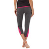 Patagonia W's Pliant Fitted Crop Leggings Forge Grey m/Radiant Magenta